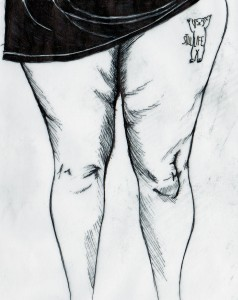 Drawing by Colette Walsh