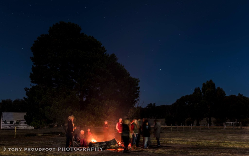 Newstead Night Sky