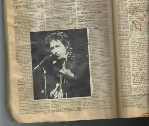 The Bob Dylan Telephone Directory