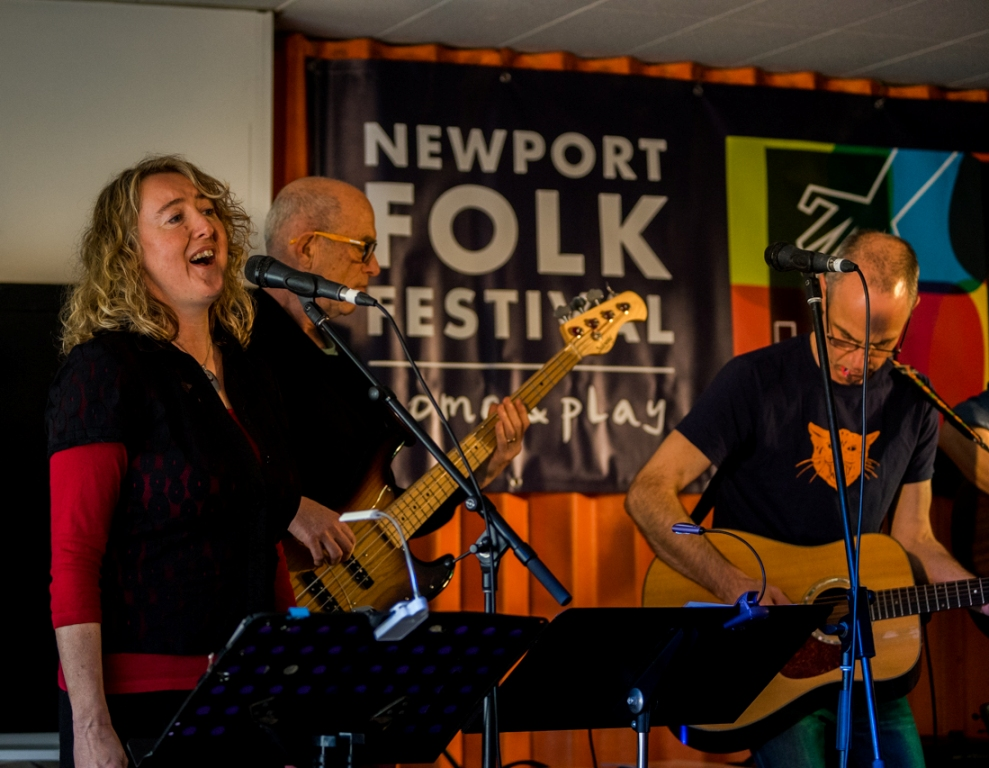 Photo courtesy of Gerry Nelson, Newport Folk Festival.