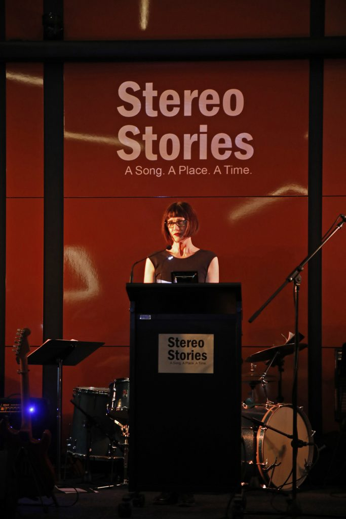 Maria Majsa's story about her mother's hard life was based around the Elliot Smith song Between The Bars, which was performed by Peter Maskell and Stephen Andrew. Phto by Patrick Reynolds.