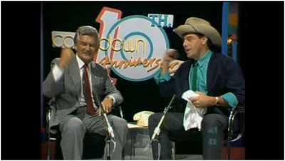 Bon Hawke and Ian 'Molly' Meldrum on Countdown.