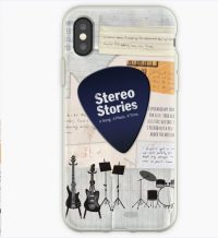 Phone cover with Stereo Stories imagery