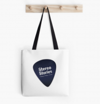 Tote bag with Stereo Stories logo